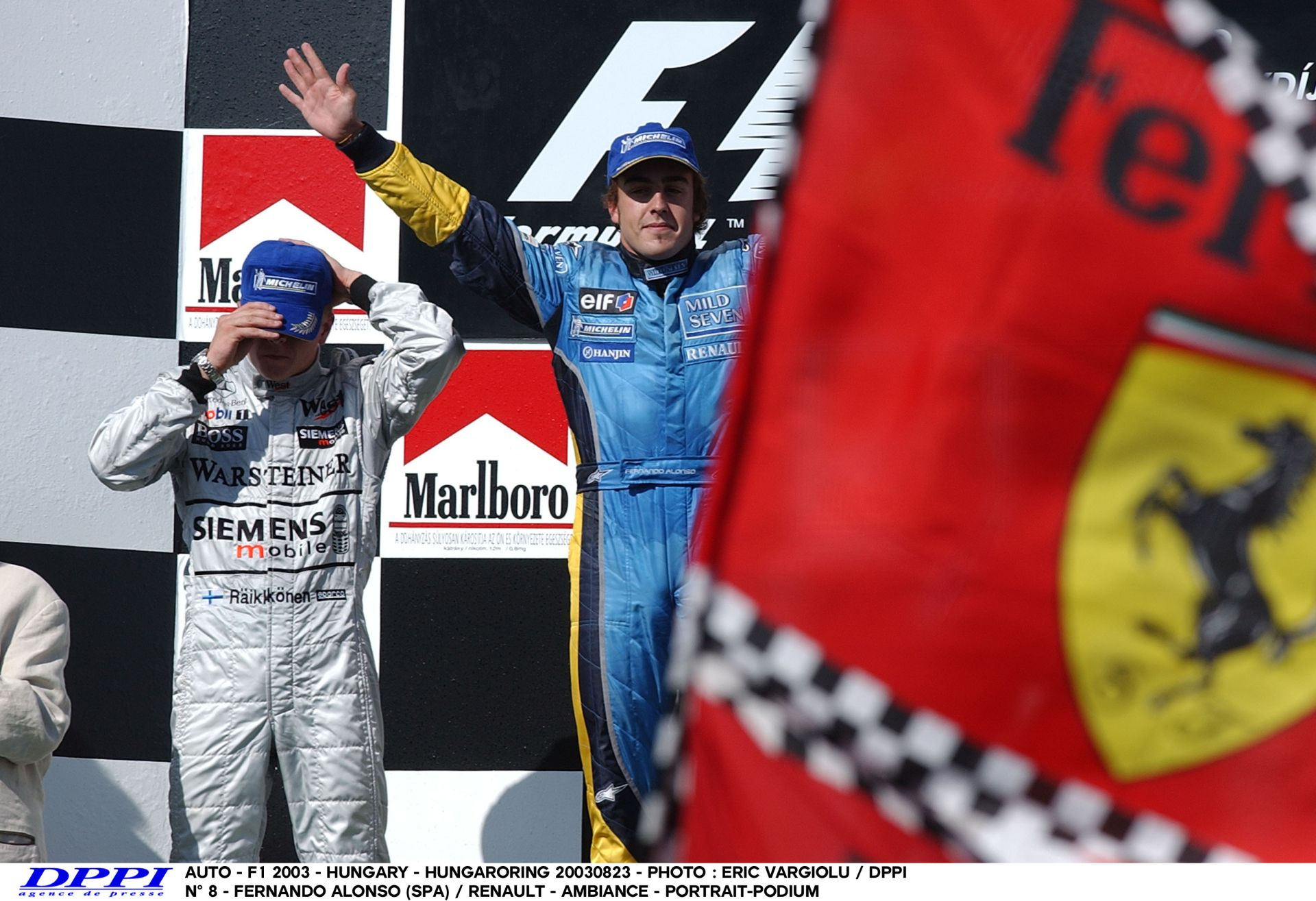 Alonso 2003-ban ezen a napon lett minden idők legfiatalabb futamgyőztese a Forma-1-nek: Magyar Nagydíj