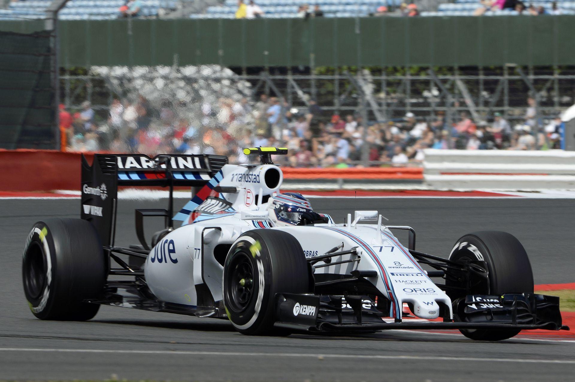 Bottas: Az autómat a versenyre állítottuk be Silverstone-ban!