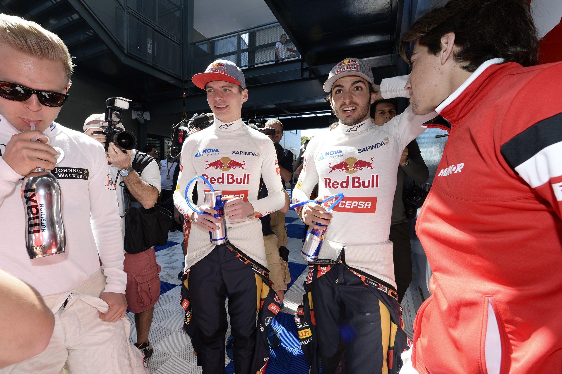 Sainz: Ha Verstappen jövőre a Ferrarihoz megy, akkor nagy bajban vagyok