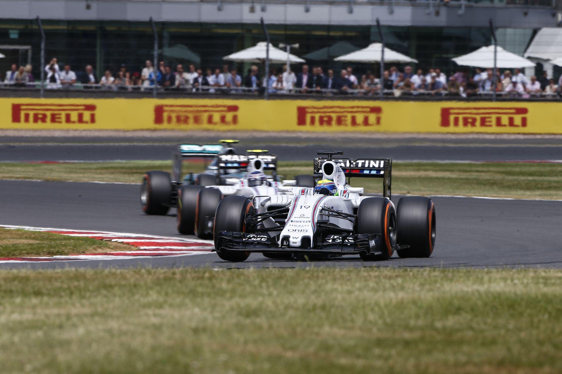 Bottas nézetből Massa szenzációs startja: Állva hagyta a Mercedeseket a kis brazil