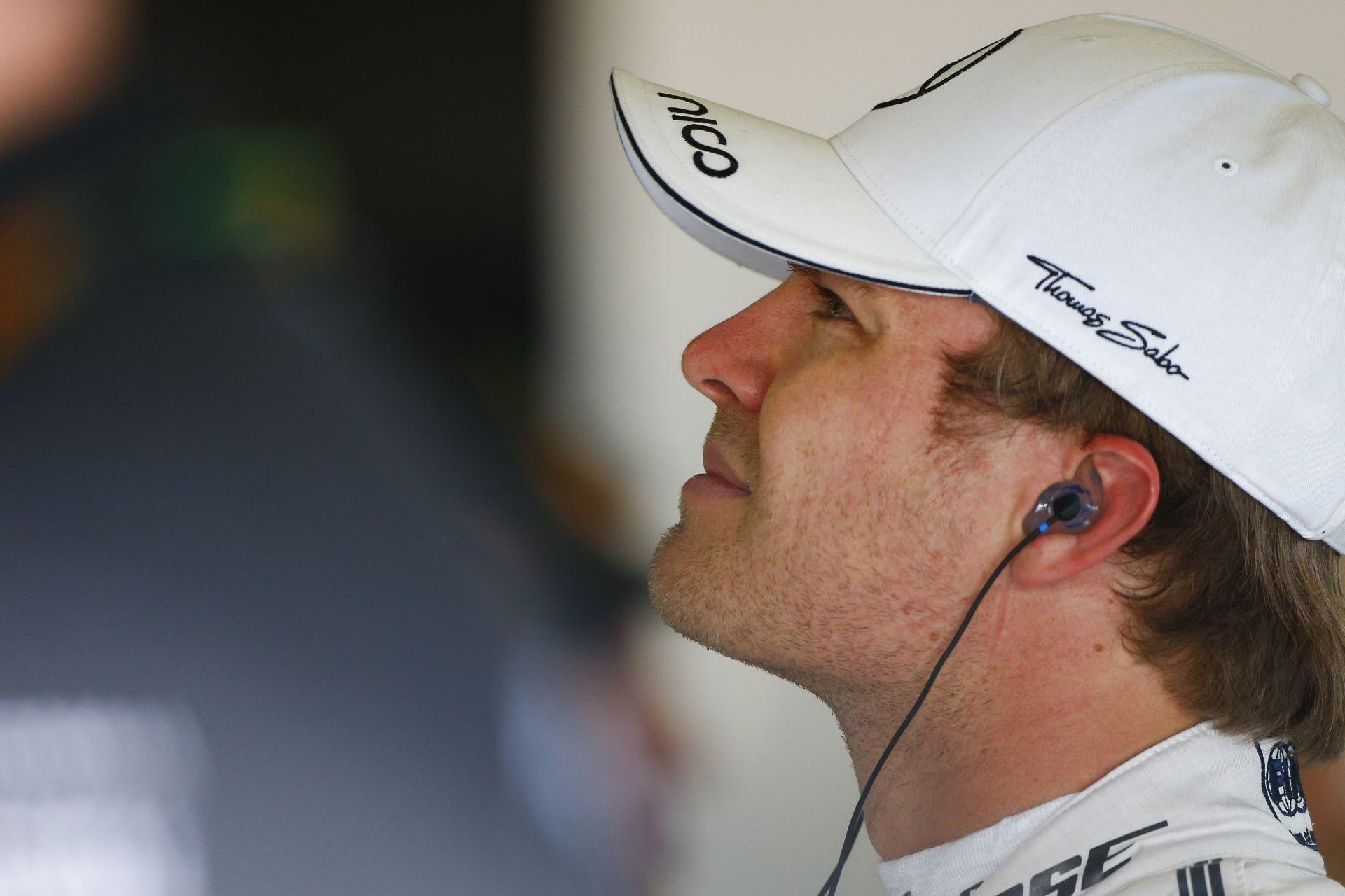 Rosberg hadat üzent Hamiltonnak - lesz Ő még erősebb is idén!