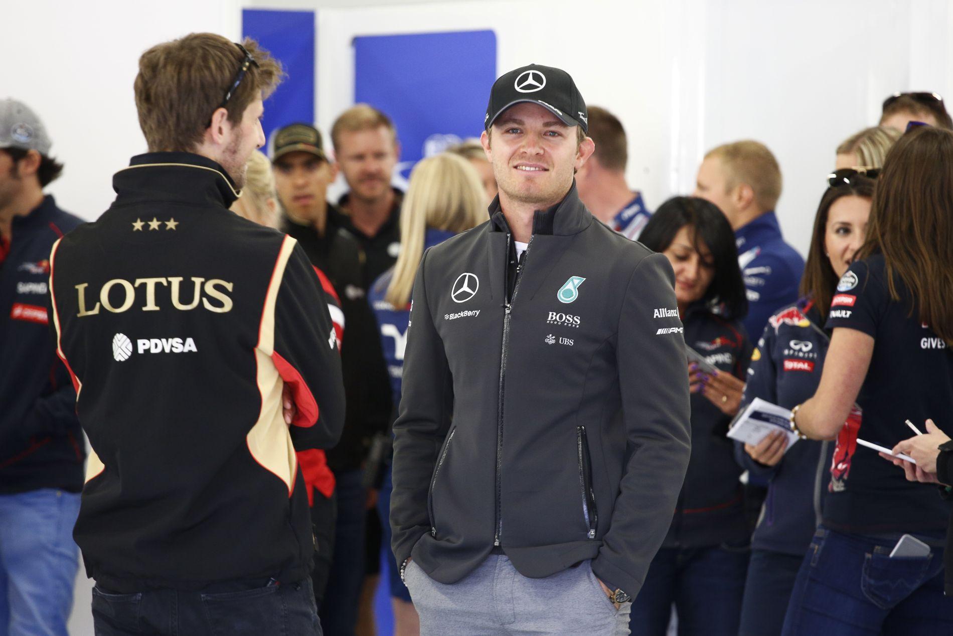 Egy biztos: nem fogják Mercedesnek hívni Rosberg lányát