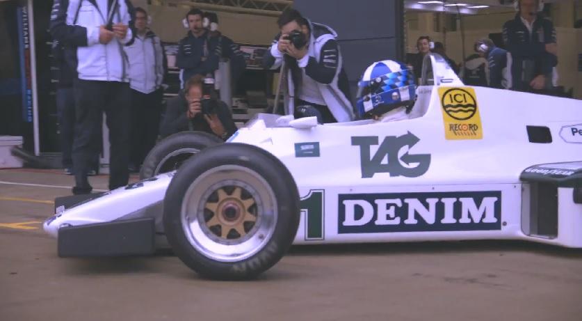 """Exkluzív videó David Coulthard F1-es """"visszatéréséről: Williams FW08 és FW36"""