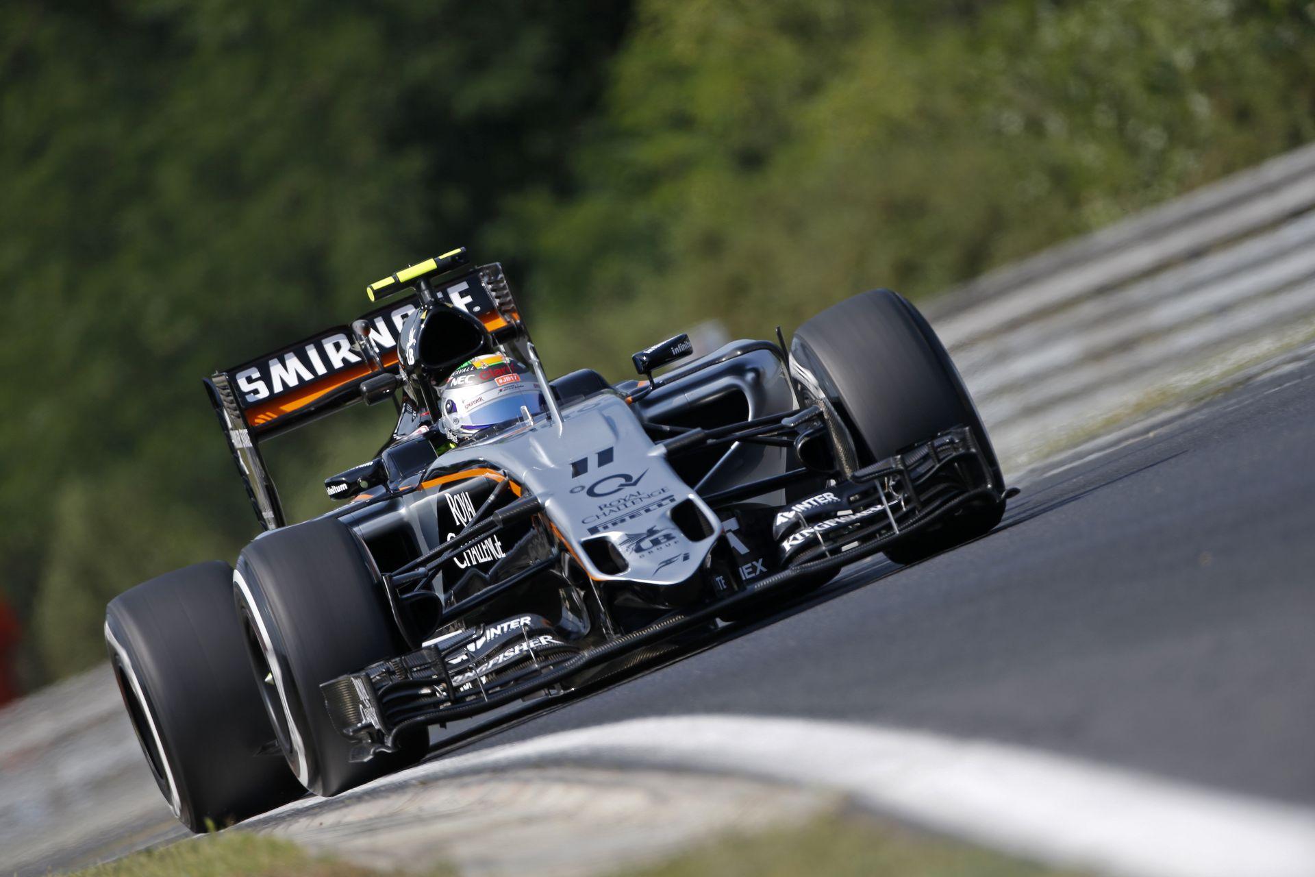 Force India: Borulás, technikai KO a Hungaroringen
