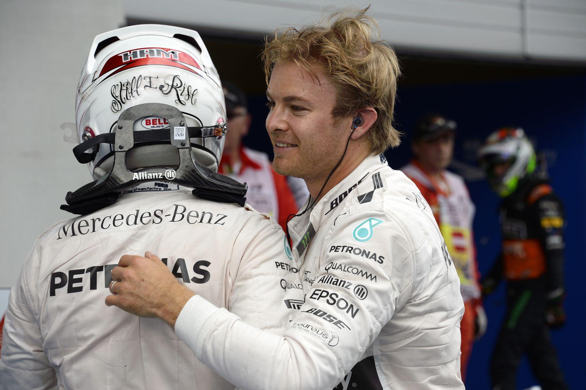 Hamilton Vs. Rosberg a Magyar Nagydíjon: Ennyivel volt gyorsabb a brit a németnél