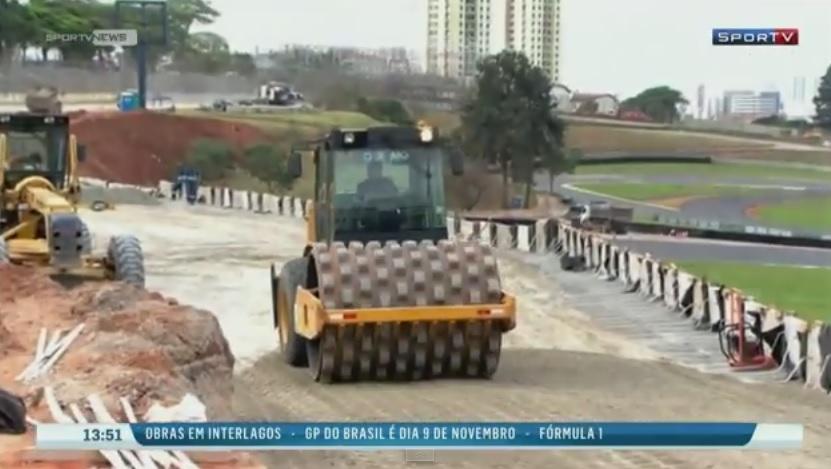 Továbbra is átépítés alatt áll Interlagos, a Brazil Nagydíj helyszíne