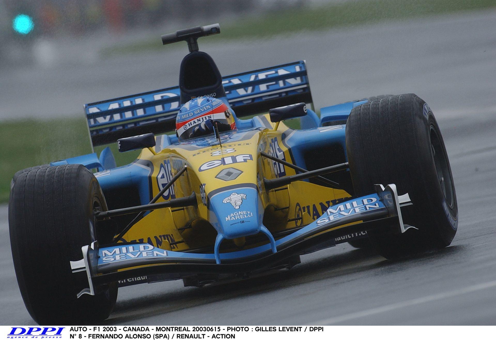 Alonso rendesen megküldi a V10-es Renault-t Kanadában