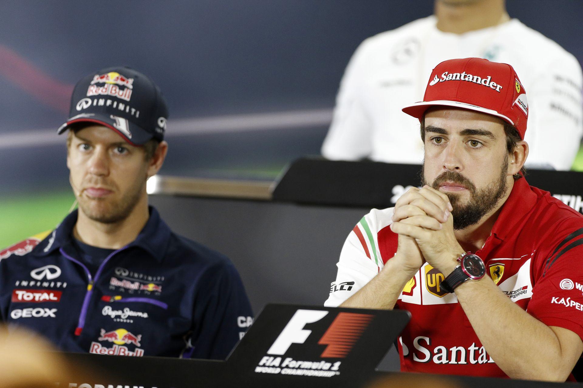 Alonso és Vettel a fizetési lista élén - egyelőre...