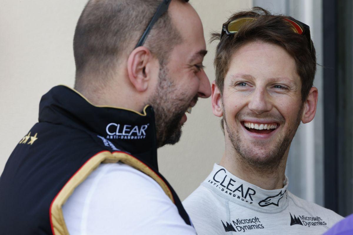 A Lotus szerint Grosjean marad, ahol van: erősen tanácsos, mivel jönnek a Merci-motorok