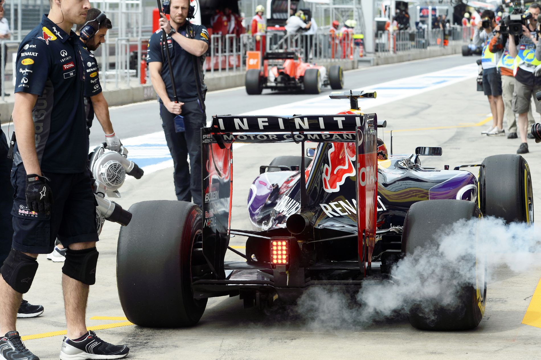 Leghamarabb a Magyar Nagydíj után érkezhet a Red Bull reménysége