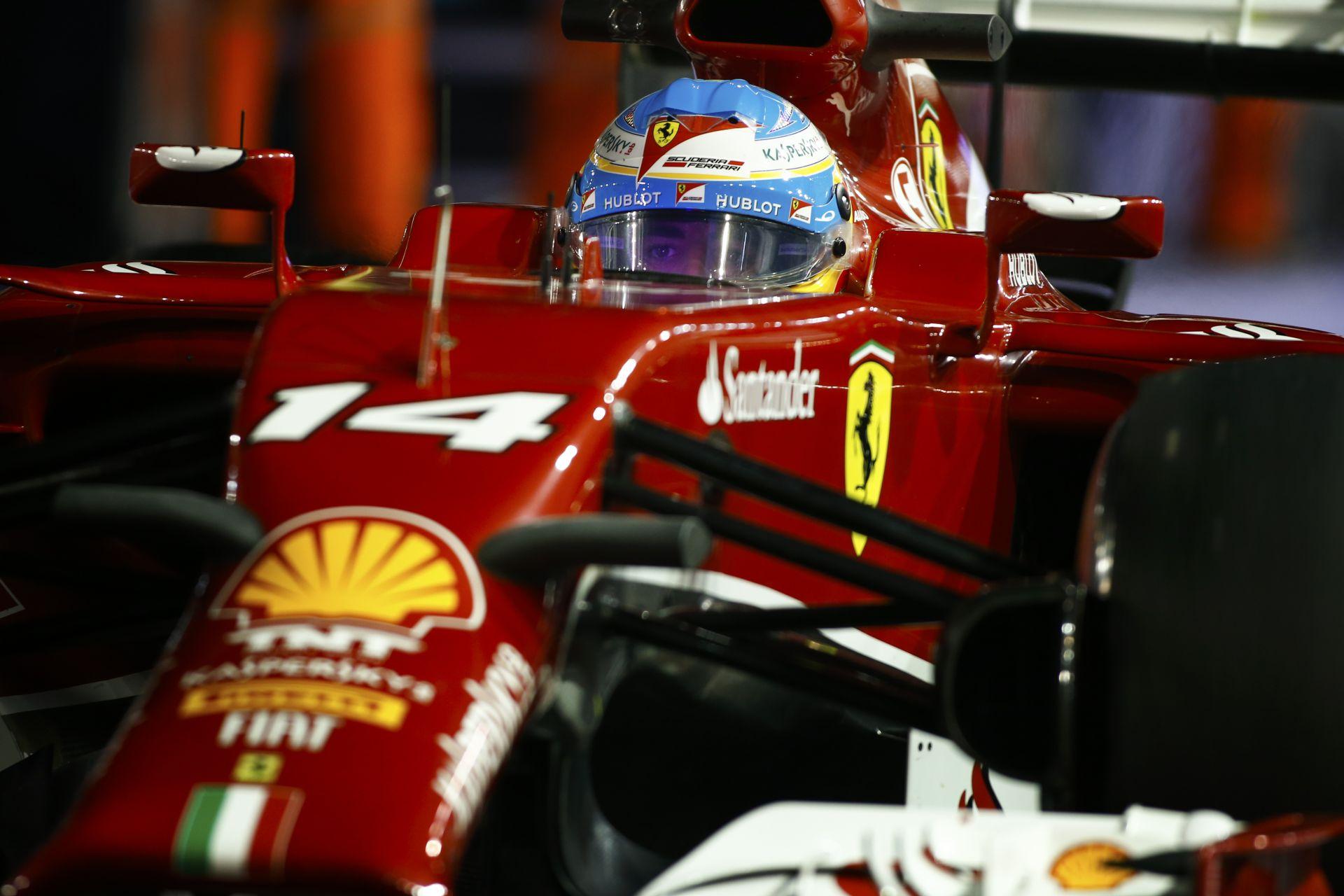 """Alonso szerint beszédes, hogy Raikkönen 45 másodperccel ért mögötte célba Szingapúrban: Megalázó vereség lehet ez a """"Jégember"""" s"""