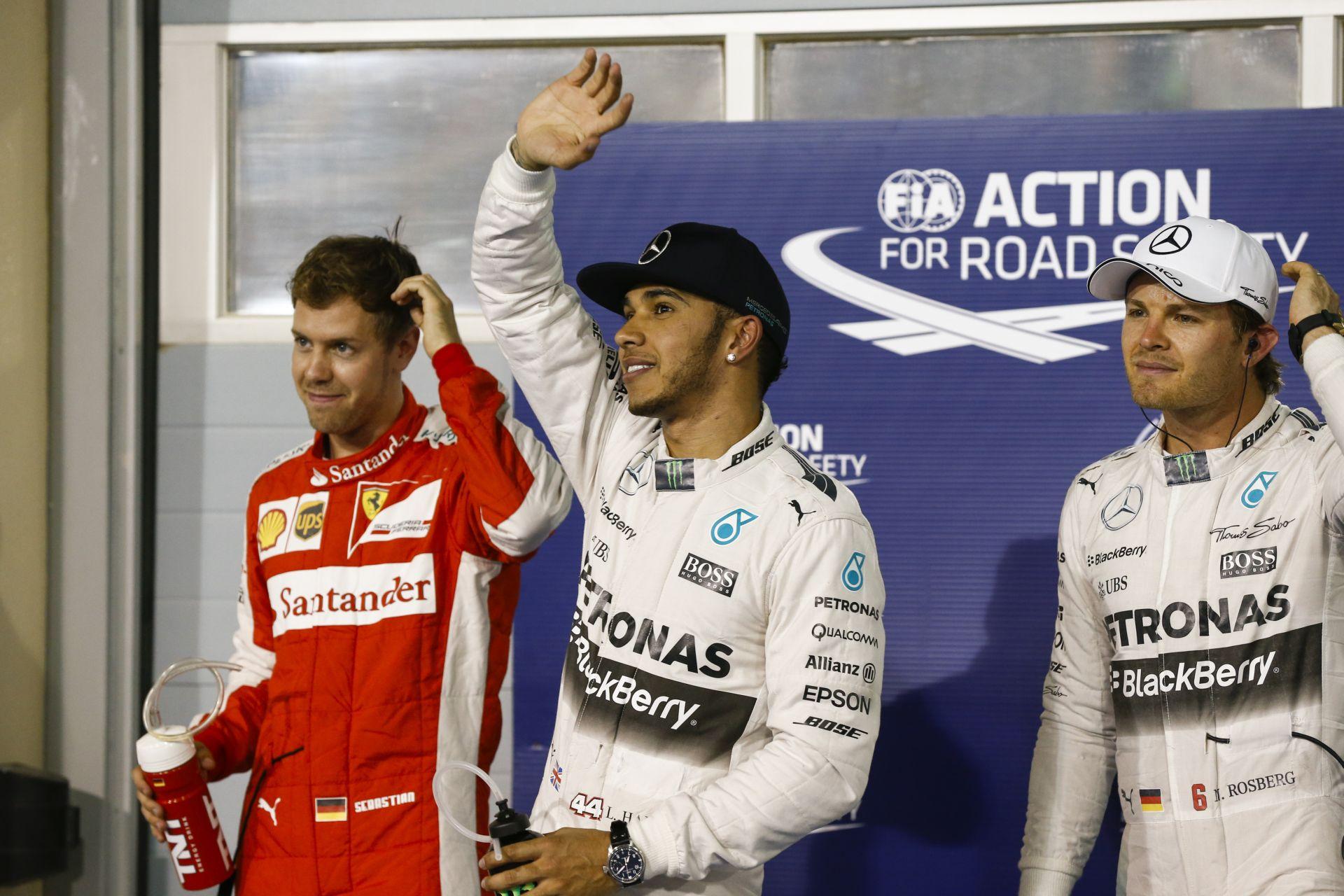 Moss szerint Rosberg soha nem fogja legyőzni Hamiltont