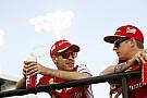 Vettel nagyon közel kerülne a Mercedeshez és örülne Raikkönen maradásának