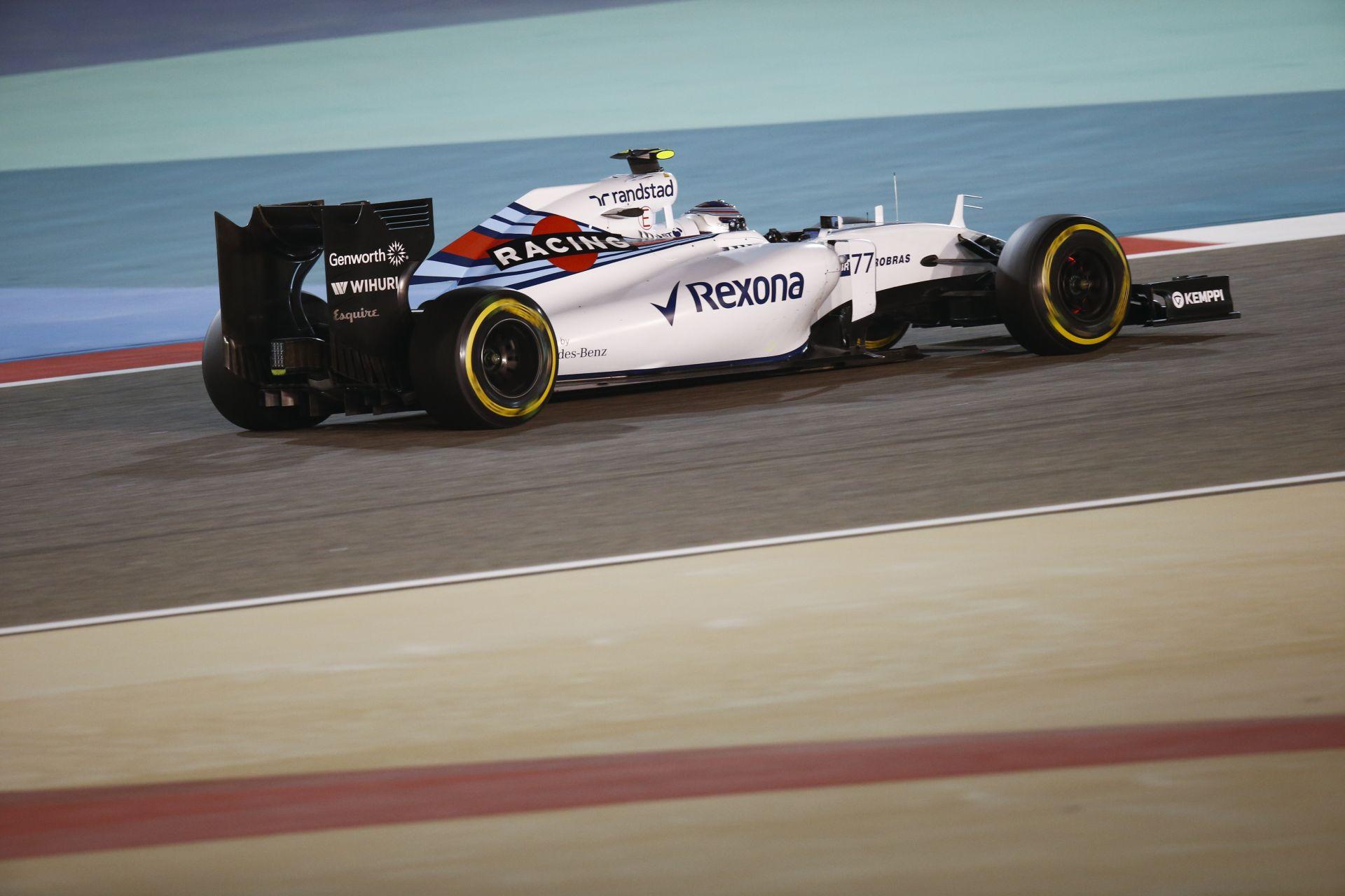 A Williams ma minden feladatot a tervek szerint kipipált Spanyolországban