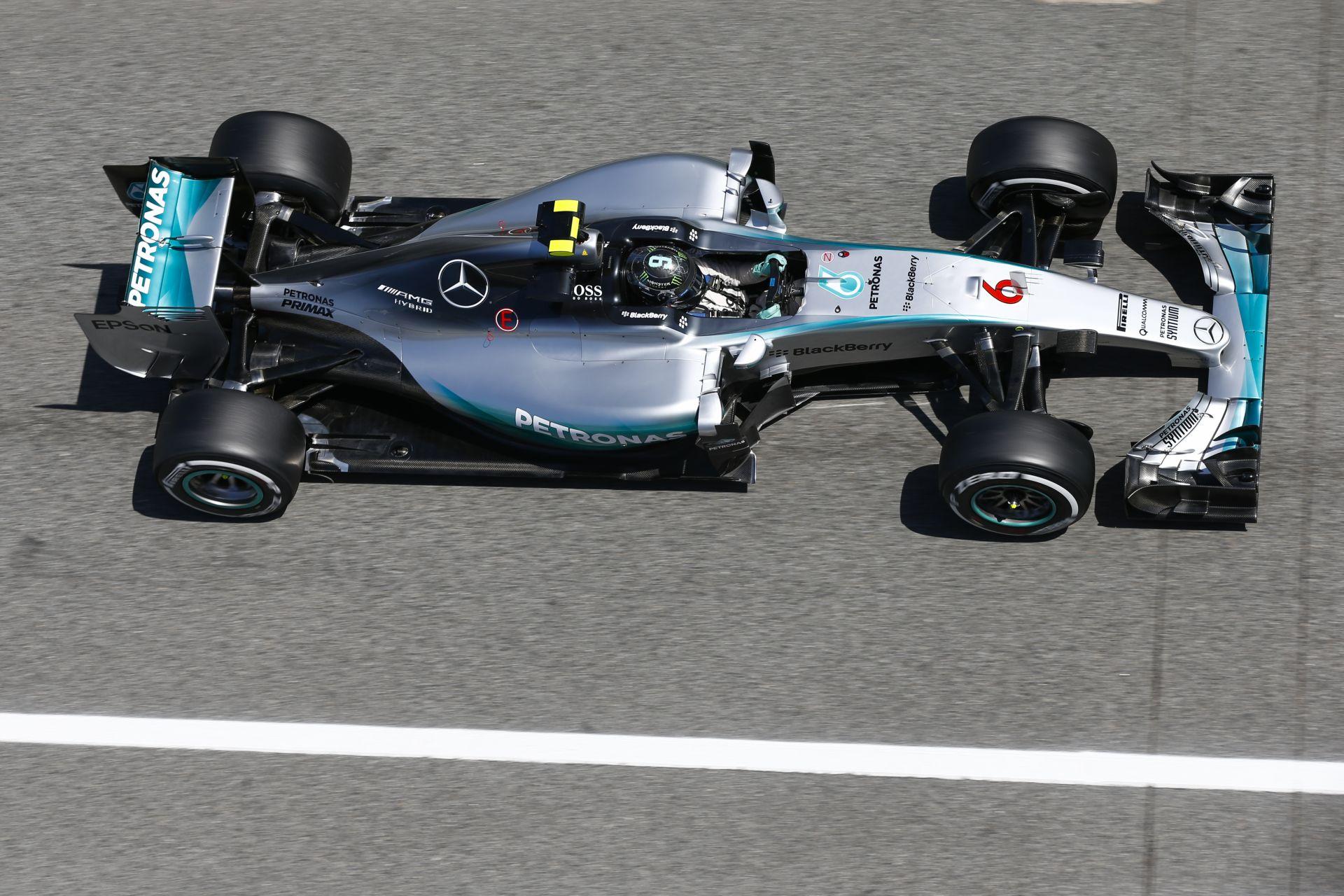 Ennyivel volt jobb Rosberg Hamiltonnál: Videós összehasonlítás