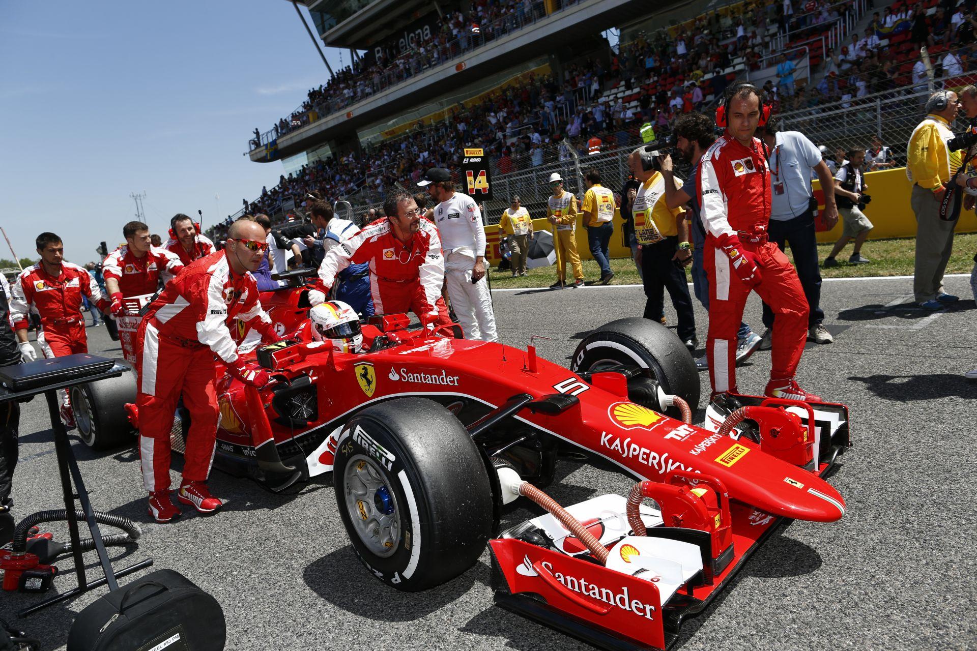 Ferrari: Nem úgy működnek a fejlesztések, mint azt vártuk