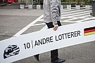 Lotterer csapattársa előtt, mindezt esőben: vajon ez sikernek számít?!