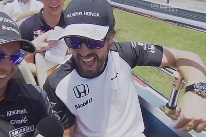 Alonso: Tudom, hogy egyesek szerint a tizennegyedik helyen nem lehetsz boldog... de ha egyszer mégis?!