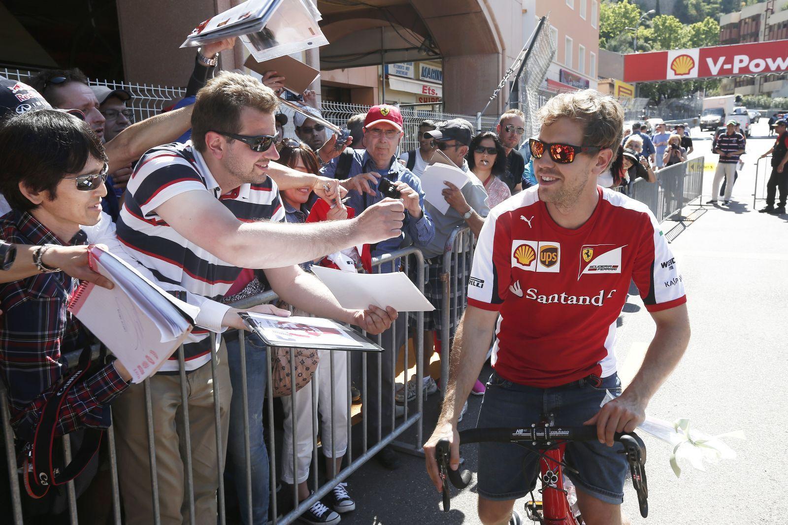 Vettel szerint a Ferrari erősebb lesz Monacóban annál, mint amit két hete láttunk