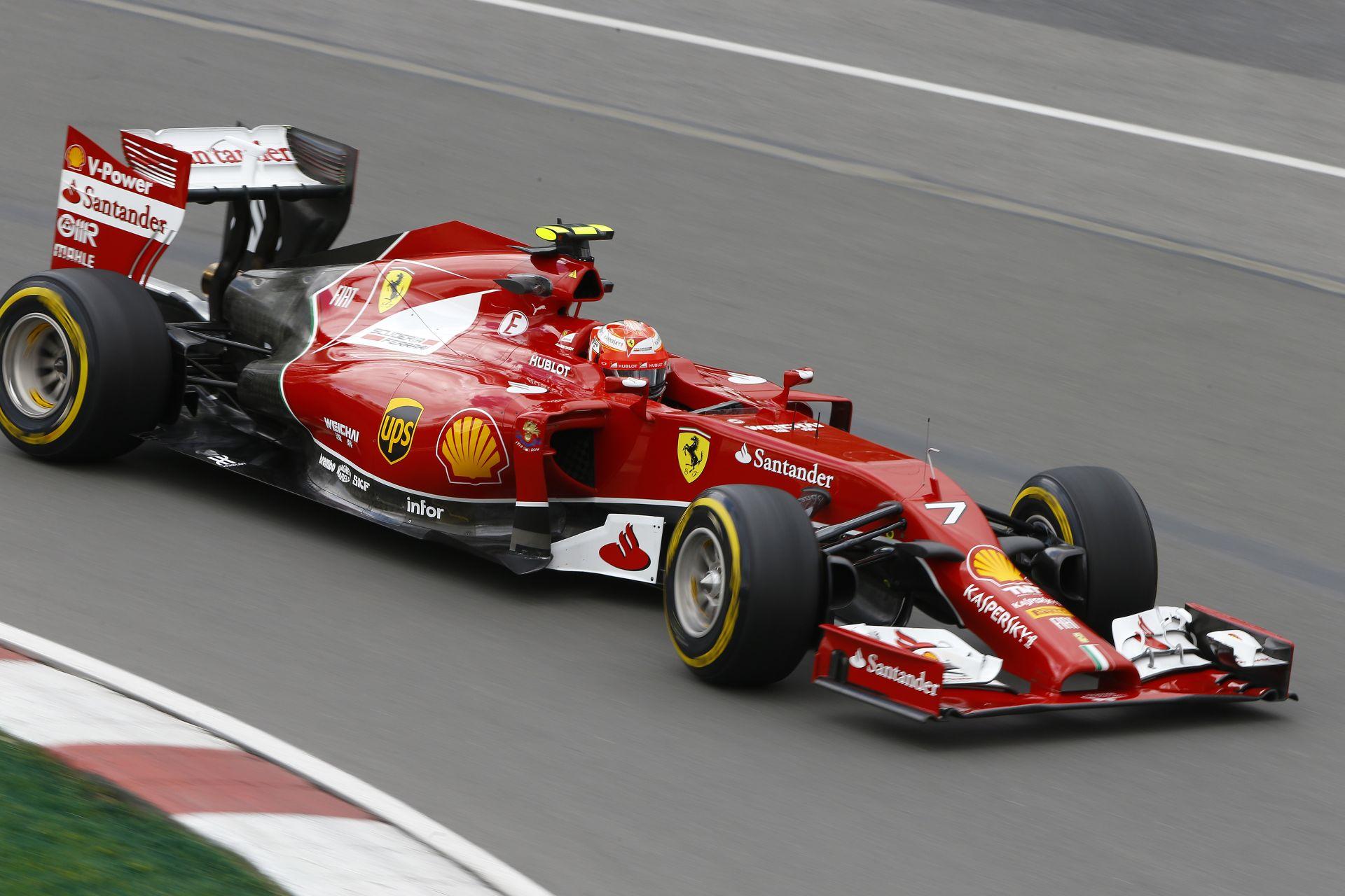 Egy új fejlesztési csomagot kaphat Raikkönen a Ferraritól