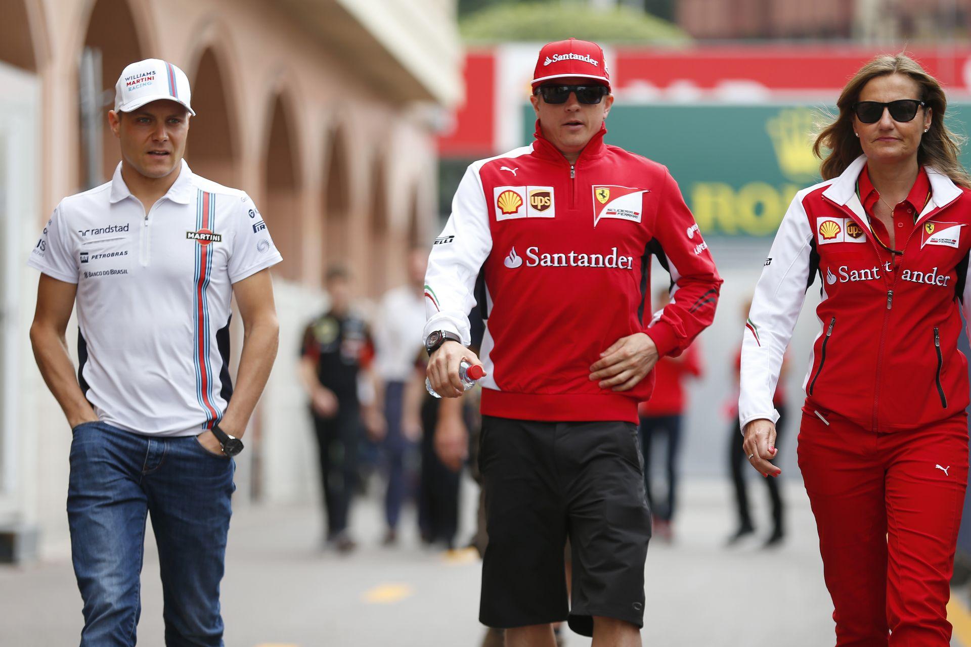 Bottas: Alonso megnehezíti Raikkönen életét, aki azonban vissza fog vágni!
