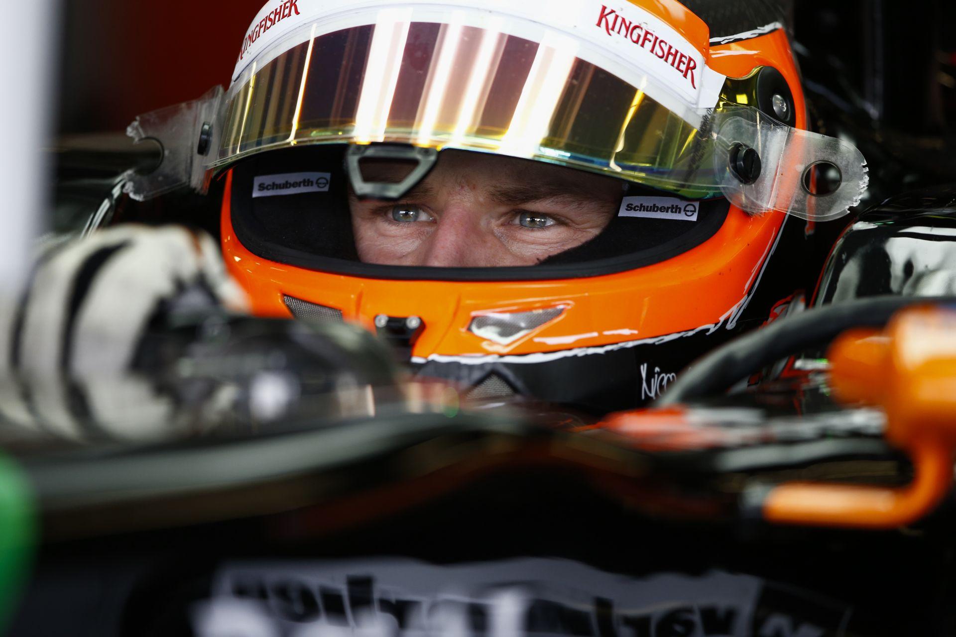 Hülkenberg komoly dolgokra lehet képes holnap a 4. helyről Silverstone-ban