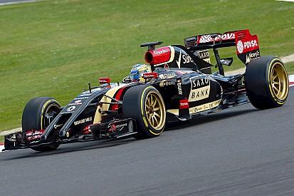 A most pályára vitt 18 colos F1-es gumik alkalmatlanok a versenyzésre