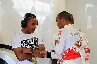 Nicolas Hamilton: Ki akarok lépni Lewis árnyékából