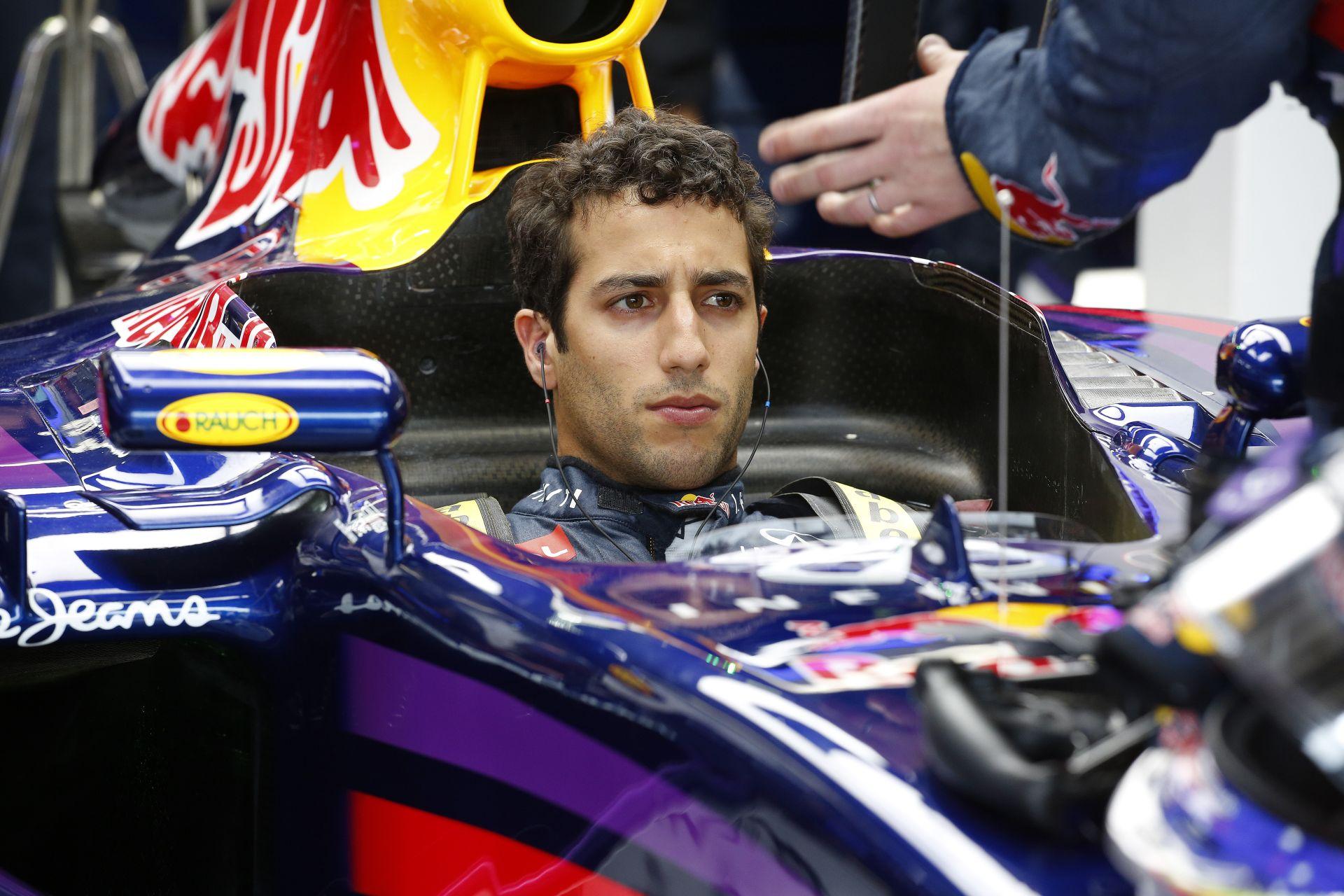 Ricciardo: Szép lenne Vettel előtt maradni, de ez nem lesz könnyű