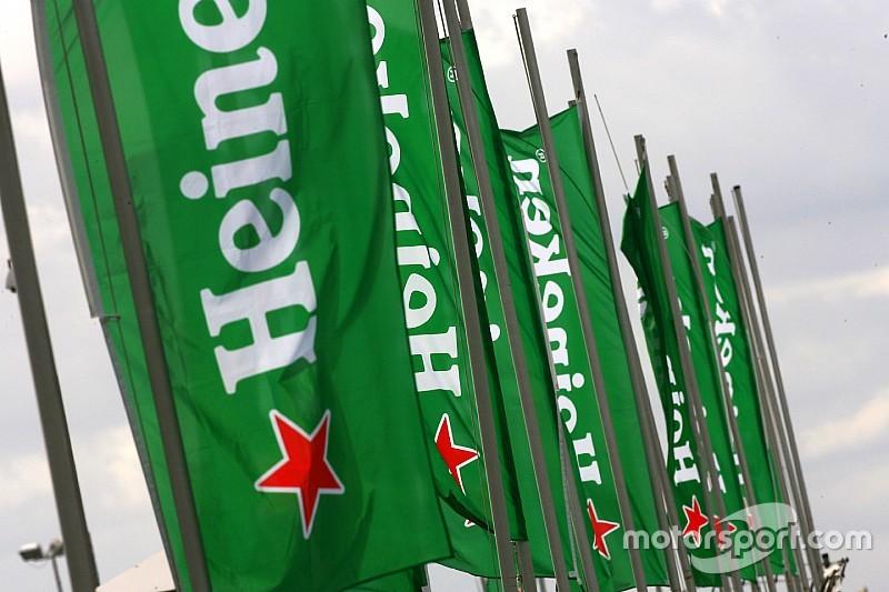 Officieel: Heineken wordt partner van Formule 1