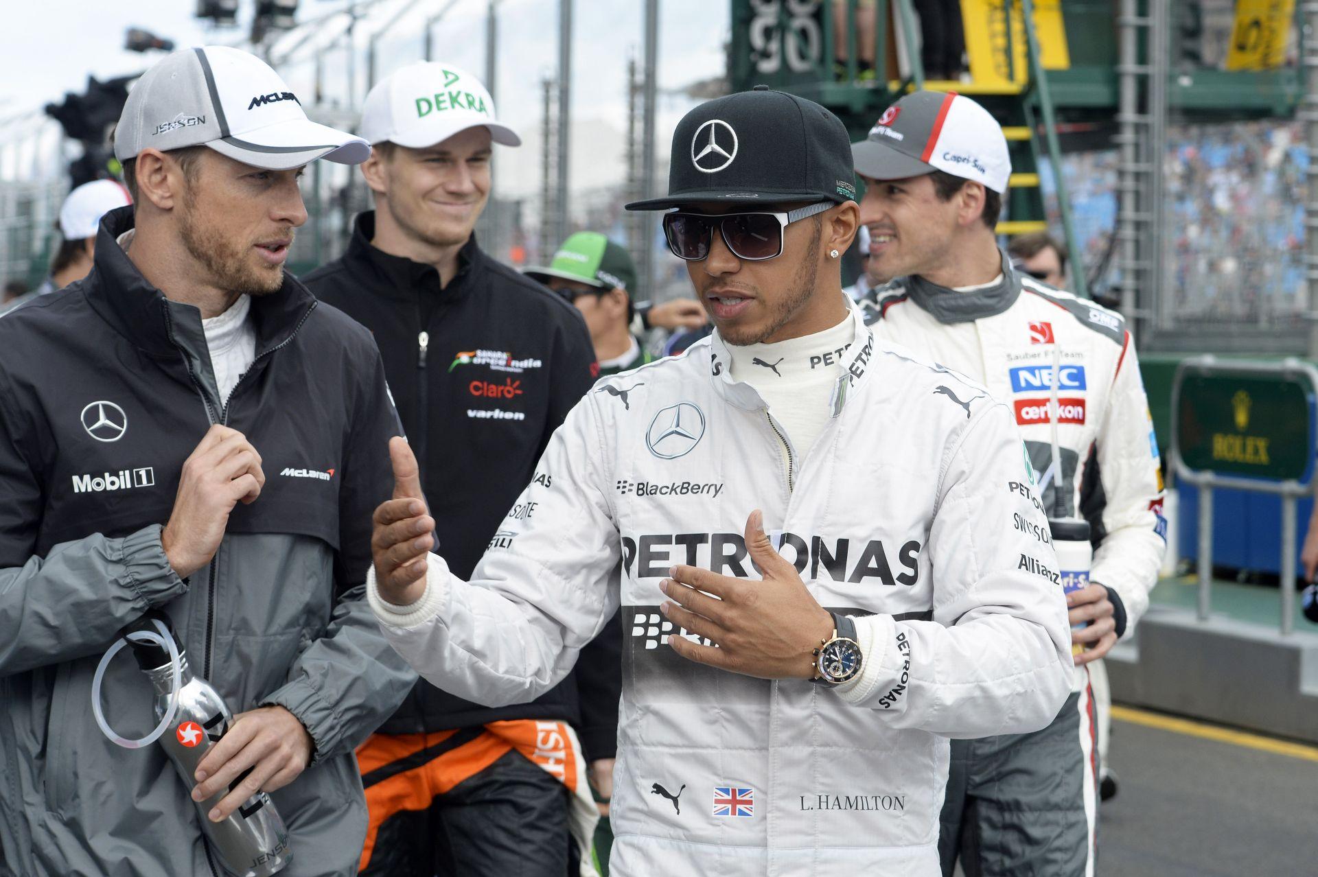 Button számára Hamilton volt az igazi mérce: 2008 bajnoka feladta neki a leckét