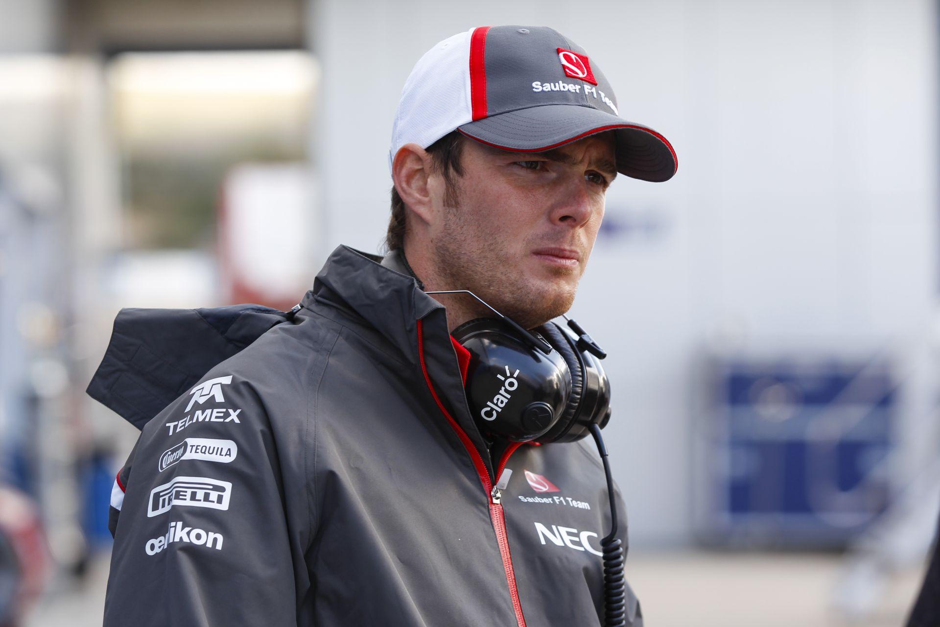 Sauber: Ha Van der Gardét beültetjük az autónkba Ausztráliában, az halálos balesettel is járhat