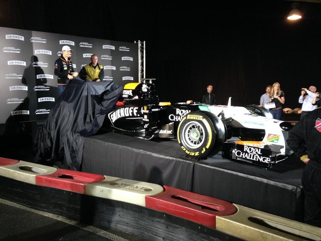 Leleplezték a Force India új festését a Spanyol Nagydíj előtt