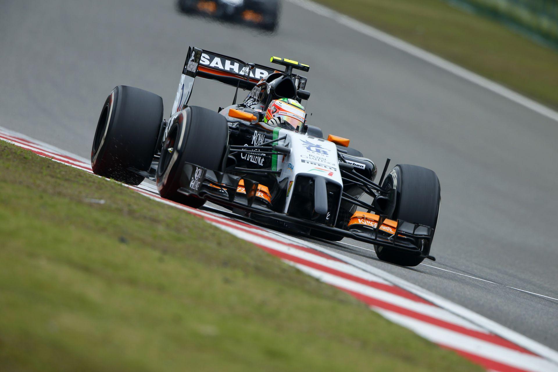 """Élesedik a Force India """"bárdja"""" Barcelonában: Néha azonban ciki, hogy a GP2-es autók gyorsabbak az F1-nél"""