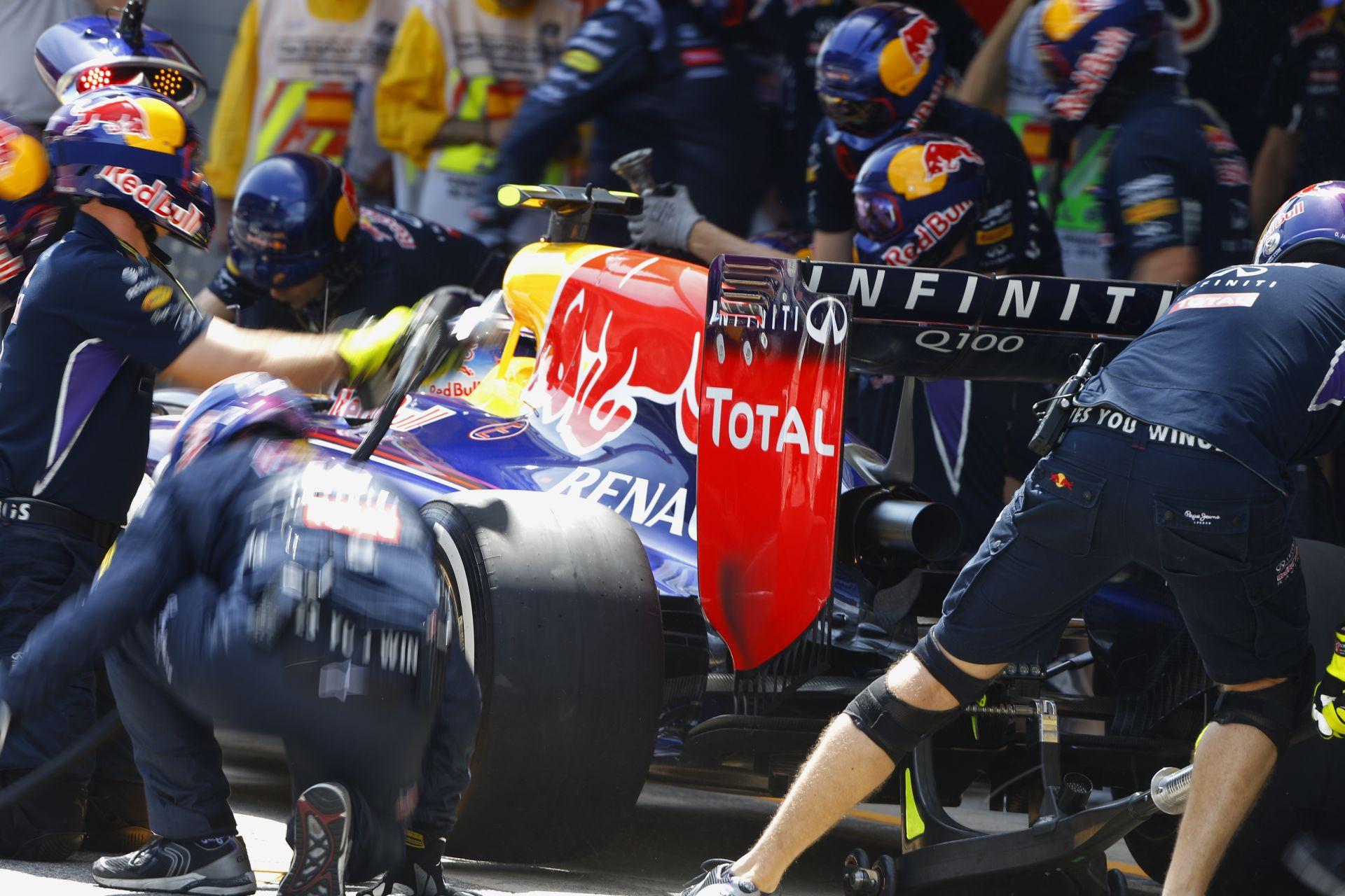 Spanyol Nagydíj 2014: Vettel büntetése után a rajtrács