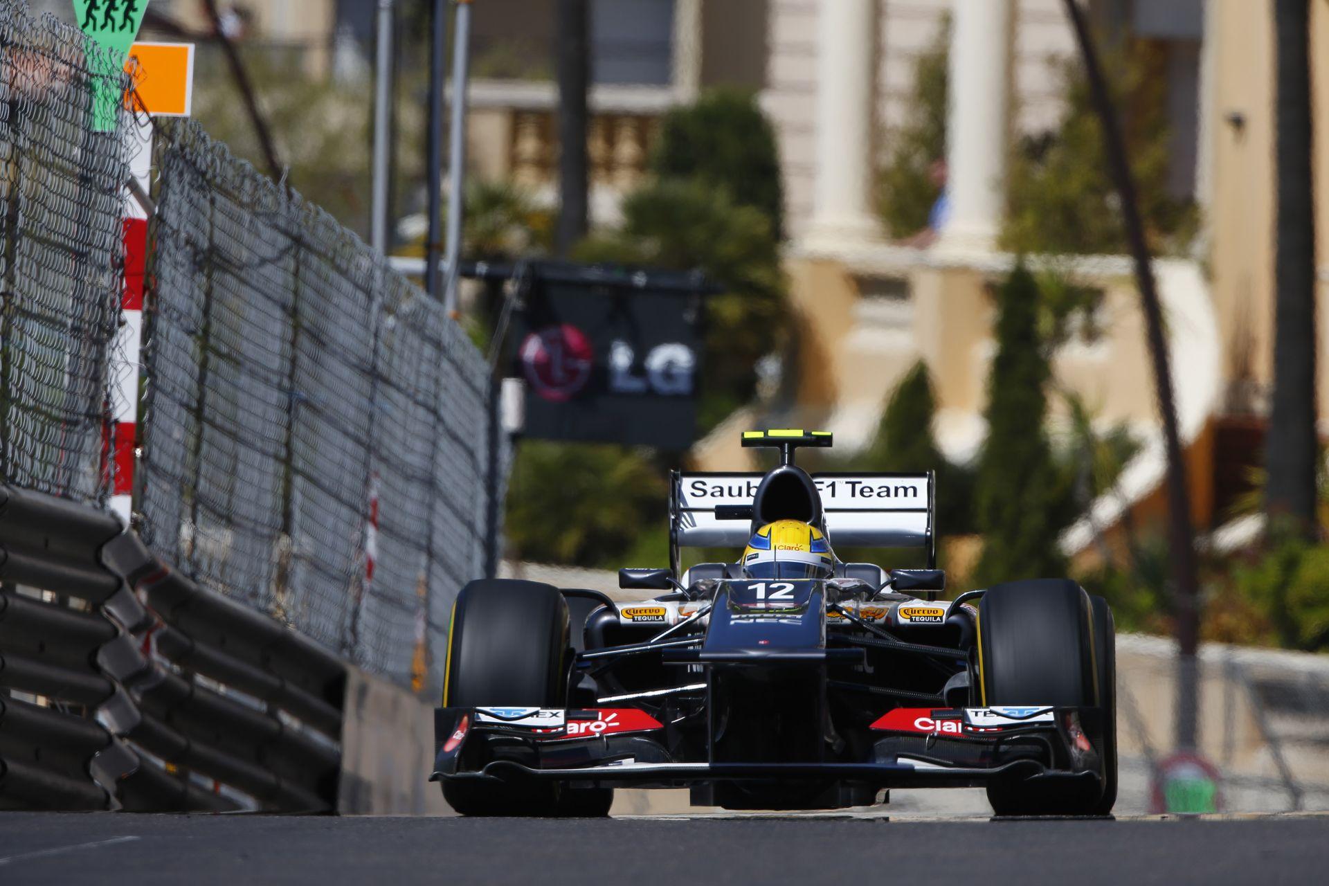 Monacóban nem hibázhatsz, mert ott a fal, centiméterekre tőled