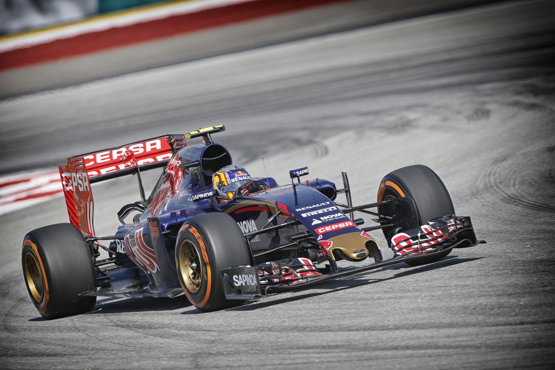 Toro Rosso: Egész jó napunk volt, holnapig még fejlődhetünk is