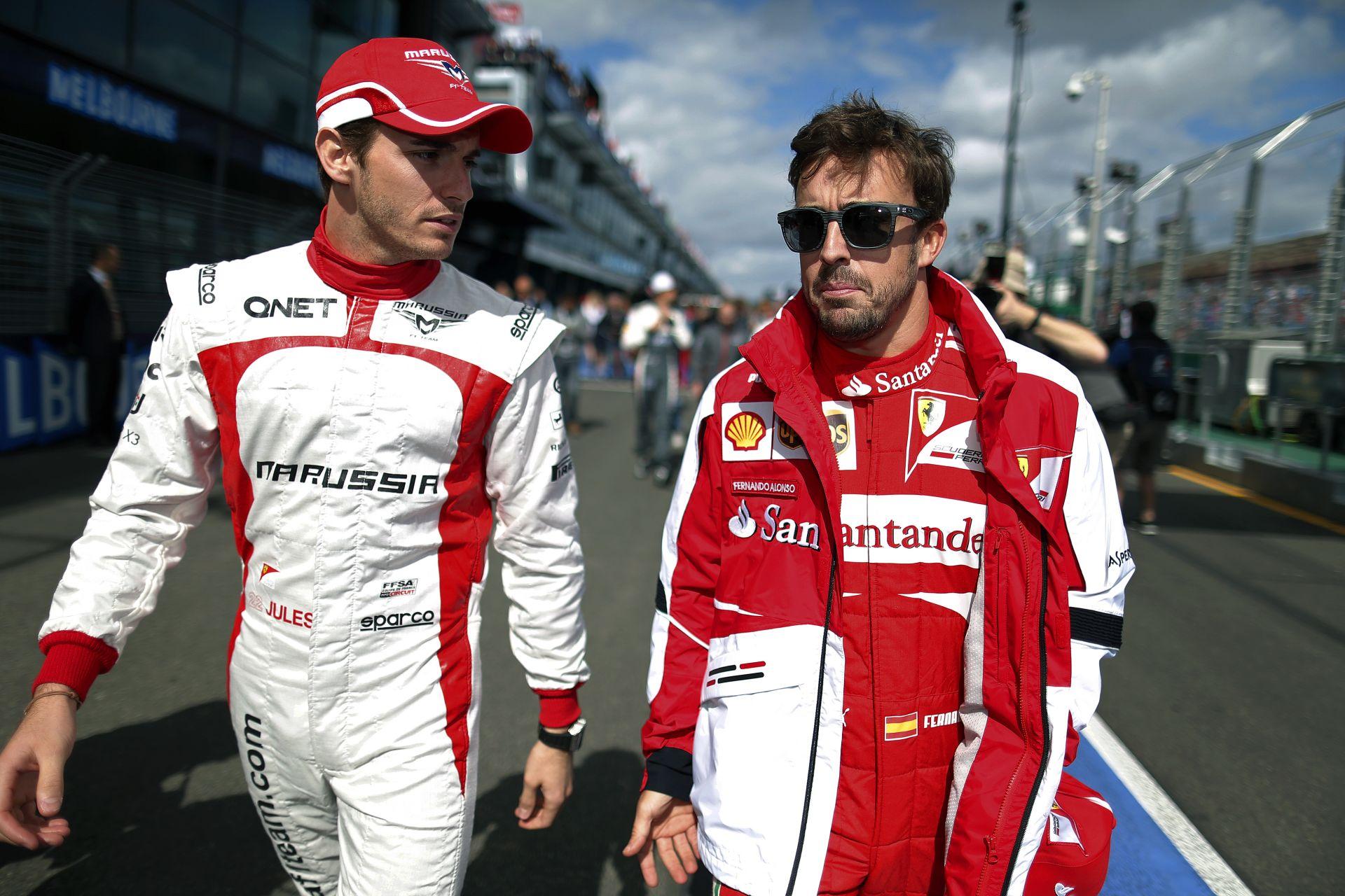 Alonso: Bianchi nagyon jó barátom, szívből gratulálok neki!