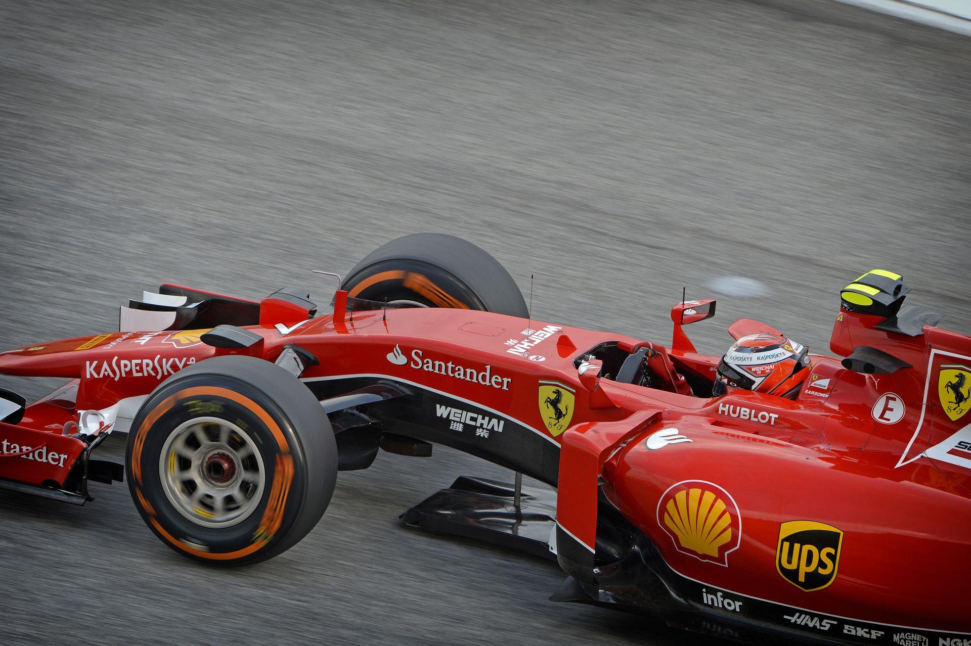 Kimi kissé bepörgött Grosjeanra Malajziában