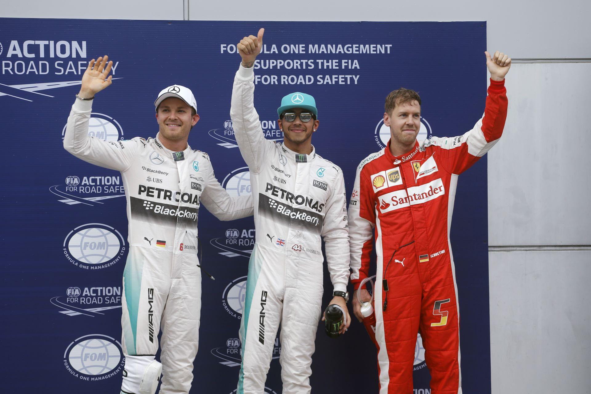 Hamilton és Rosberg: A Ferrari megérkezett ránk!