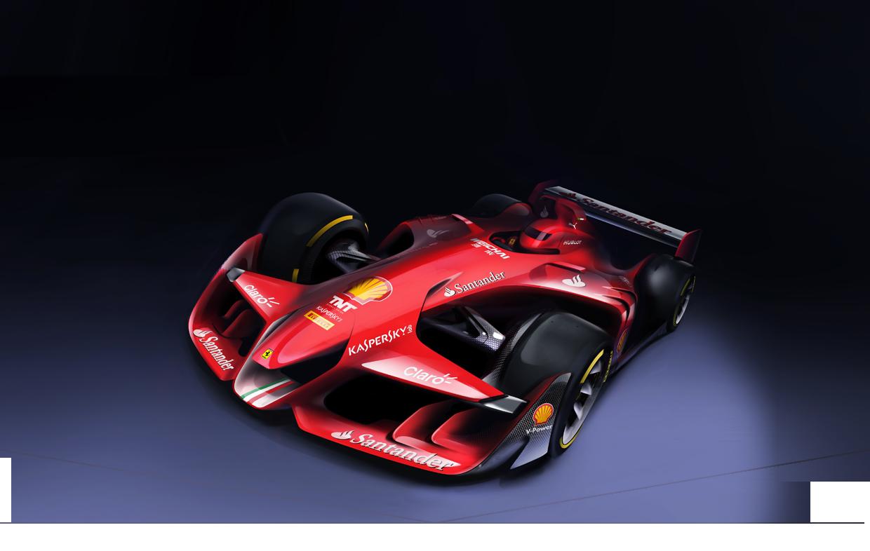 BRÉKING: a Ferrari szerint ilyen a jövő F1-gépe!!! Térdre előtte!
