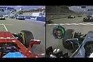 Alonso és Button: Kerék a keréken a rajtnál Bahreinben