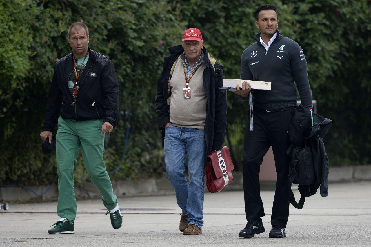 Lauda: nem lehet pontosan megmondani, mekkora a különbség a motorok között
