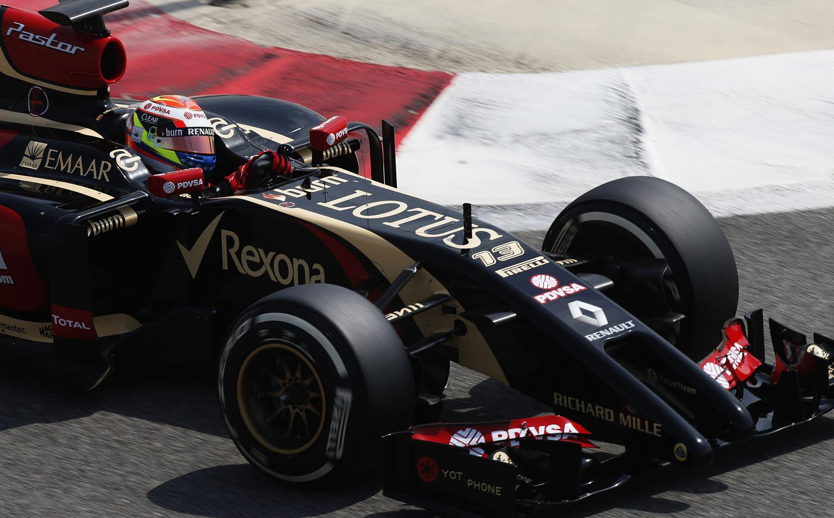Maldonado: Nagyon hamar dobogóra állhatunk a Lotusszal