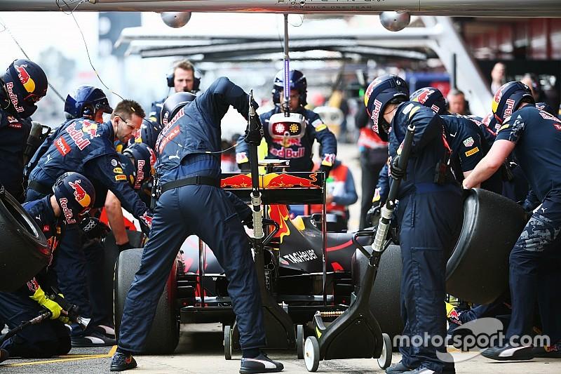 Red Bull presenta nueva estrategia de software para evitar desastres en pitstops