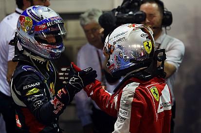 Vettel aceptaría a Ricciardo como compañero en Ferrari