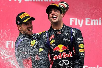 Vettel relativise la domination de Ricciardo en 2014