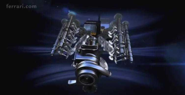Animáción a Ferrari V6-os turbója: egyelőre nem mutatják meg az igazit