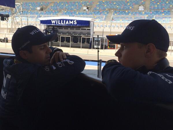 A Williams és Massa is sajnálja a mai napot: sokáig tartott a szerelés