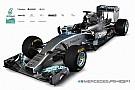 Képeken a 2014-es Mercedes – Hamilton és Rosberg új autója